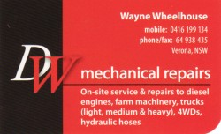 DW Mechanical Repairs