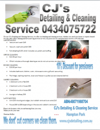 Cj's Detailing & Cleaning Service