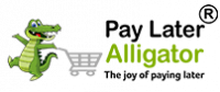 Pay Later Alligator Logo