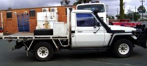 1998 HZJ75 Toyota Landcruiser Ute - Creen Pty Ltd